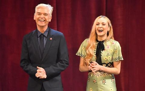 Philip Schofield and Fearne Cotton presented Wednesday's ceremony - Credit:  PA/ Dominic Lipinski