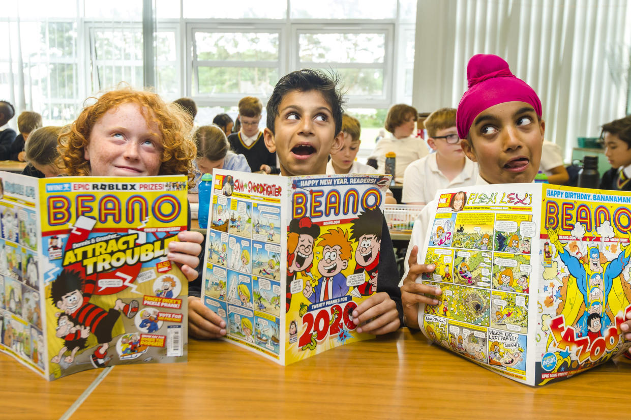 Let there Beano-mistake, these kids are very funny (Image: Euan Cherry)