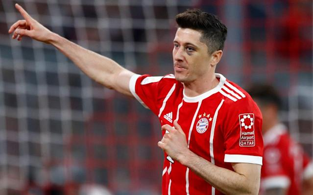"Robert Lewandowski wants to leave Bayern Munich, according to agent Pini Zahavi. A Daily Telegraph exclusive earlier this month revealed that Chelsea have made the centre-forward their main summer transfer target. Zahavi told Sport Bild magazine that the Bundesliga's top scorer ""feels that he needs a change and a new challenge in his career."" Zahavi, the agent who helped facilitate Neymar's transfer from Barcelona to Paris Saint-Germain last year, said Lewandowski's reasons ""are not money or a specific club, as nearly all top clubs would like to have the world's best striker in their ranks."" The 29-year-old Poland striker, whose contract with Bayern runs to 2021, wants to leave this off-season, Zahavi reportedly said. Robert Lewandowski will be in action for Poland at the World Cup Credit: EPA Lewandowski has scored 106 goals in 126 Bundesliga games for Bayern since switching from league rival Borussia Dortmund in 2014. He helped the team win the league each year, chipping in 29 goals this season. Bayern chairman Karl-Heinz Rummenigge recently ruled out a transfer. ""We know what we have in Robert Lewandowski. Nobody need worry, he will also play football here in Munich next year,"" Rummenigge said. Lewandowski parted with previous agent Cezary Kucharski in February, when he turned to Zahavi. Revealed: The inside story of how Antonio Conte's reign at Chelsea turned sour Sport Bild reported that Real Madrid's interest has cooled after Lewandowski's failure to score in the Champions League semifinals against the club, but that Paris Saint-Germain, Chelsea and Manchester United are interested. Chelsea are looking to add more firepower after club-record purchase Alvaro Morata endured a difficult debut season. Despite a promising start, the Spaniard missed a glut of high-profile chances, while tragedy befell him off the pitch following the death of one of his closest friends in a car crash mid-season. Chelsea snapped up Olivier Giroud in an £18 million deal in January, who turns 32 later this year, while it remains to be seen if on-loan Michy Batshuayi has a long-term future at Stamford Bridge."
