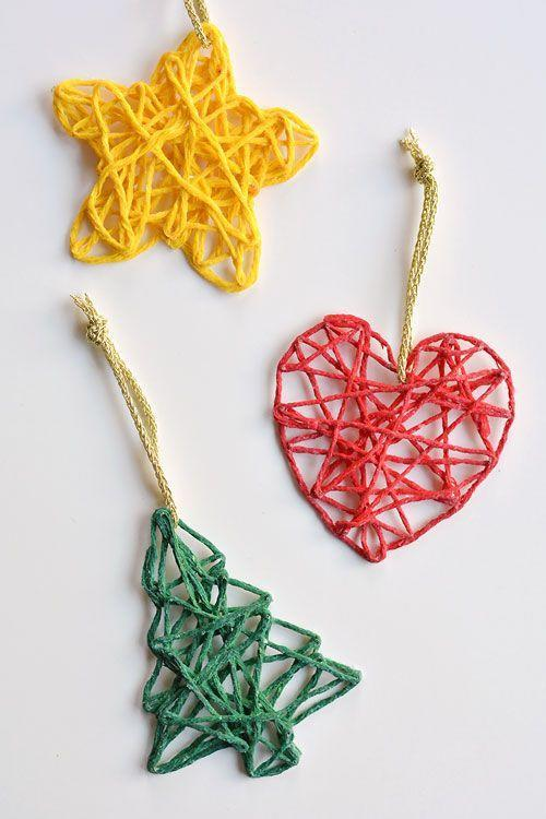 """<p>What we love most about these colorful DIY ornaments is that you can make them year-round. For Christmas, use green yarn to create a tree. Feel like getting crafty on Valentine's Day? We're loving this heart-shaped version.</p><p><strong>Get the tutorial at <a href=""""https://onelittleproject.com/how-to-make-wrapped-yarn-ornaments/"""" rel=""""nofollow noopener"""" target=""""_blank"""" data-ylk=""""slk:One Little Project"""" class=""""link rapid-noclick-resp"""">One Little Project</a>.</strong></p><p><a class=""""link rapid-noclick-resp"""" href=""""https://www.amazon.com/Mira-Handcrafts-Acrylic-Yarn-Bonbons/dp/B07B7M5RBW/ref=sr_1_1_sspa?tag=syn-yahoo-20&ascsubtag=%5Bartid%7C10050.g.1070%5Bsrc%7Cyahoo-us"""" rel=""""nofollow noopener"""" target=""""_blank"""" data-ylk=""""slk:SHOP YARN"""">SHOP YARN</a></p>"""