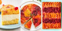 """<p>Upside down cakes are impressive, and delightfully retro! And we hate the idea of seeing them go completely out of fashion, which is why we've rounded up our most delicious upside down cake recipes for you to whiz through. Of course, we've included the classic <a href=""""https://www.delish.com/uk/cooking/recipes/a32312209/easy-pineapple-upside-down-cake-recipe/"""" rel=""""nofollow noopener"""" target=""""_blank"""" data-ylk=""""slk:Pineapple Upside-Down Cake"""" class=""""link rapid-noclick-resp"""">Pineapple Upside-Down Cake</a>, along with others like <a href=""""https://www.delish.com/uk/cooking/recipes/a35848520/citrus-upside-down-cake-recipe/"""" rel=""""nofollow noopener"""" target=""""_blank"""" data-ylk=""""slk:Citrus Upside-Down Cake"""" class=""""link rapid-noclick-resp"""">Citrus Upside-Down Cake</a> (this one's seriously gorg) and <a href=""""https://www.delish.com/uk/cooking/a33007650/peanut-butter-banana-upside-down-cake-recipe/"""" rel=""""nofollow noopener"""" target=""""_blank"""" data-ylk=""""slk:Peanut Butter & Banana Upside-Down Cake"""" class=""""link rapid-noclick-resp"""">Peanut Butter & Banana Upside-Down Cake</a>. Not to mention, we've even thrown in a <a href=""""https://www.delish.com/uk/cooking/recipes/a34902347/pineapple-upside-down-cheesecake-recipe/"""" rel=""""nofollow noopener"""" target=""""_blank"""" data-ylk=""""slk:Pineapple Upside-Down Cheesecake"""" class=""""link rapid-noclick-resp"""">Pineapple Upside-Down Cheesecake</a>, it's a game-changer!</p>"""