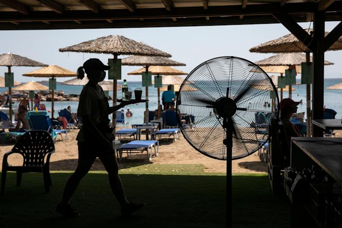 Greece Southeast Europe Heatwave (Copyright 2021 The Associated Press. All rights reserved.)