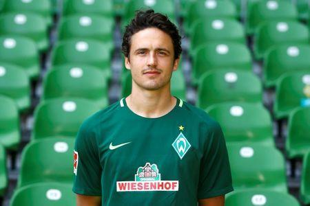 Soccer Football - SV Werder Bremen Photocall - German Bundesliga - Weser-Stadion - Bremen, Germany - July 19, 2017 SV Werder Bremen's Thomas Delaney. REUTERS/Morris Mac Matzen