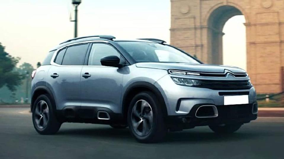 Citroen C5 Aircross SUV to be launched on April 7