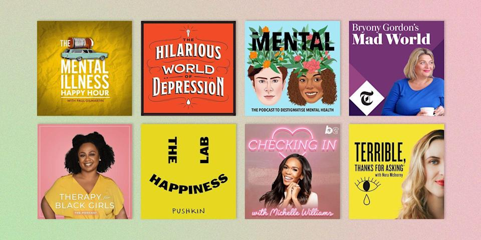 "<p>A good mental health podcast is no substitute for talking to a qualified professional, such as a therapist—even when, as is the case with <em><a href=""https://therapyforblackgirls.com/podcast/"" rel=""nofollow noopener"" target=""_blank"" data-ylk=""slk:Therapy for Black Girls"" class=""link rapid-noclick-resp"">Therapy for Black Girls</a></em>, the host actually <em>is </em>one. But listening can provide benefits of its own, including helpful <a href=""https://www.oprahmag.com/life/health/a31260463/manage-coronavirus-anxiety/"" rel=""nofollow noopener"" target=""_blank"" data-ylk=""slk:tips for coping with anxiety"" class=""link rapid-noclick-resp"">tips for coping with anxiety</a> and depression from those who've either experienced it firsthand, spent their lives treating those who have, or both. Sometimes, just listening to other people reflect on their own stories is enough to make you feel validated, and far less alone, during a dark moment. </p><p>And if one thing's for sure, it's that you're definitely not alone right now. Teens and adults were experiencing mental illness at rising rates even before the COVID-19 pandemic presented <a href=""https://www.cdc.gov/mmwr/volumes/69/wr/mm6932a1.htm"" rel=""nofollow noopener"" target=""_blank"" data-ylk=""slk:its own set of challenges"" class=""link rapid-noclick-resp"">its own set of challenges</a>, per data from nonprofit <a href=""https://www.mhanational.org/issues/state-mental-health-america"" rel=""nofollow noopener"" target=""_blank"" data-ylk=""slk:Mental Health America"" class=""link rapid-noclick-resp"">Mental Health America</a> (MHA). ""The number of people looking for help with anxiety and depression has skyrocketed,"" the MHA wrote in a report. Between April to September of 2020, 70 percent of the people found to have ""moderate to severe"" symptoms via the MHA's screening survey shared that <a href=""https://www.oprahmag.com/life/health/a32370133/how-to-be-alone-in-a-pandemic/"" rel=""nofollow noopener"" target=""_blank"" data-ylk=""slk:loneliness or isolation"" class=""link rapid-noclick-resp"">loneliness or isolation</a> were one of their biggest concerns. That's all the more reason to make these pods a part of your coping toolkit. From funny shows like <em><a href=""https://www.hilariousworld.org/about"" rel=""nofollow noopener"" target=""_blank"" data-ylk=""slk:The Hilarious World of Depression"" class=""link rapid-noclick-resp"">The Hilarious World of Depression</a> </em>to poignant programs like <em><a href=""https://mentalpod.com/"" rel=""nofollow noopener"" target=""_blank"" data-ylk=""slk:Mental Illness Happy Hour"" class=""link rapid-noclick-resp"">Mental Illness Happy Hour</a></em>, here are 10 of the best mental health podcasts about anxiety, depression, and more. </p>"