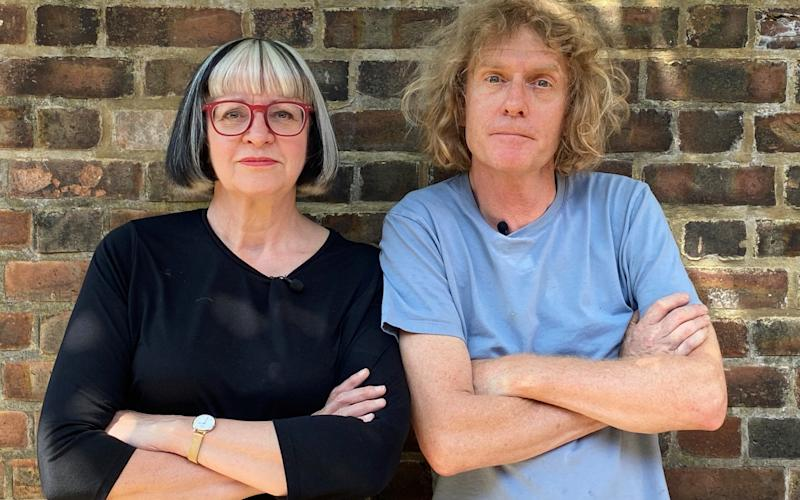 Philippa and Grayson Perry are the stars of Grayson's Art Club