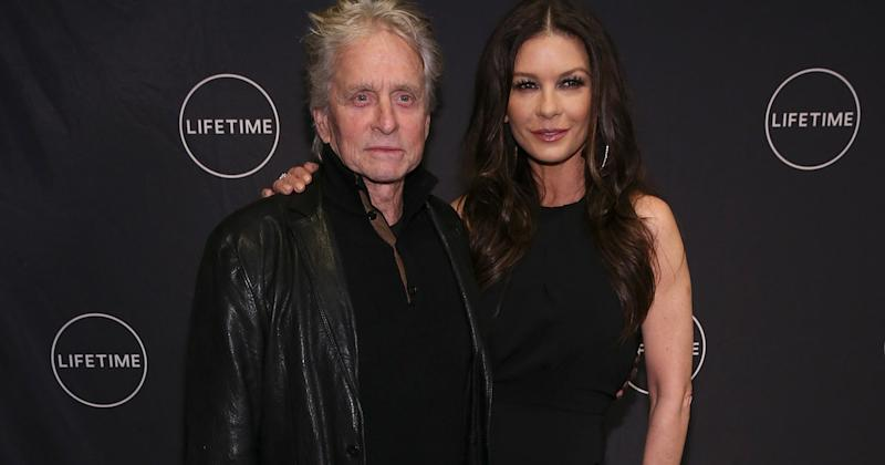 Catherine Zeta-Jones has spoken out about the sexual harassment allegations levelled against her husband, Michael Douglas.