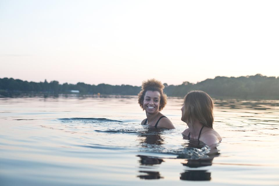 It's important to know the risks of cold water shock. (Getty Images)