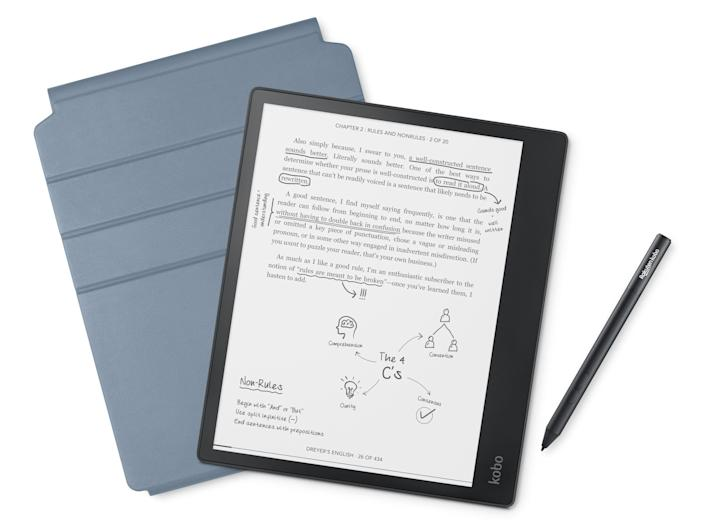 Kobo Elipsa ($399), available June 24, combines an e-reader, bookstore, and notebook, in one device.