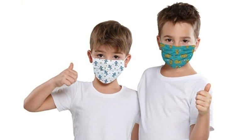 The fun fabrics of these masks make kids want to wear them.