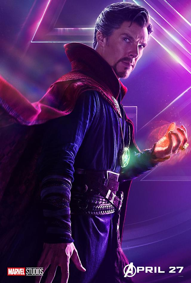 <p>Benedict Cumberbatch's sorcerer supreme will work with other New York-based heroes to try to thwart Thanos's plan. (Photo: Marvel Studios) </p>