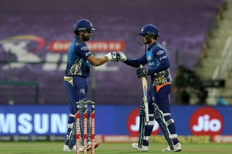 Rohit and de Kock have been fabulous at the top for MI.