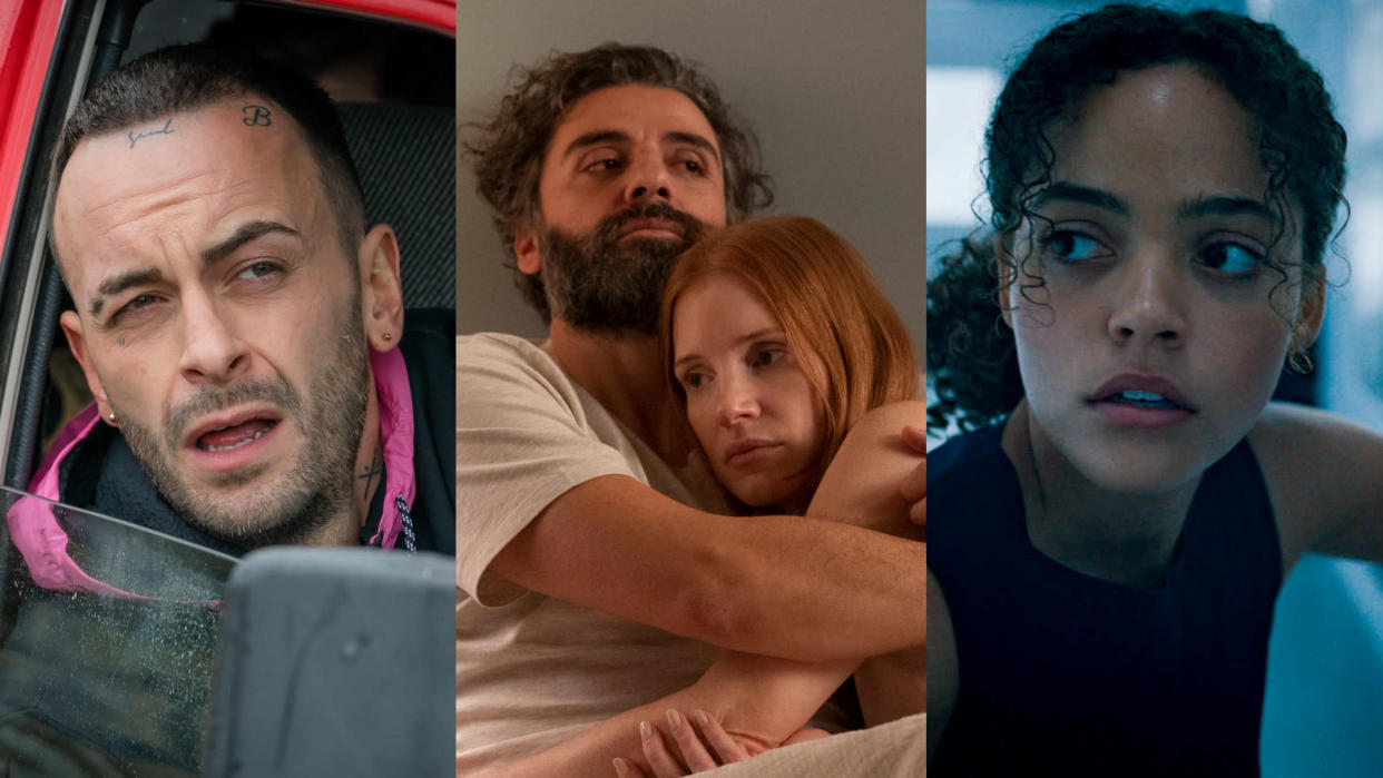 'Brassic', 'Scenes from a Marriage' and 'Voyagers' are coming to Sky and NOW during October 2021. (Ben Blackall/HBO/Lionsgate/Sky UK)