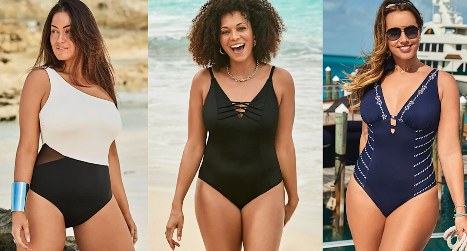 Save up to 50% on hundreds of styles at Swimsuits for All.