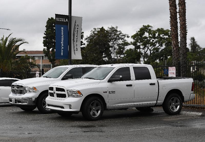 Thieves steal 'convoy' of pickups from USA auto plant