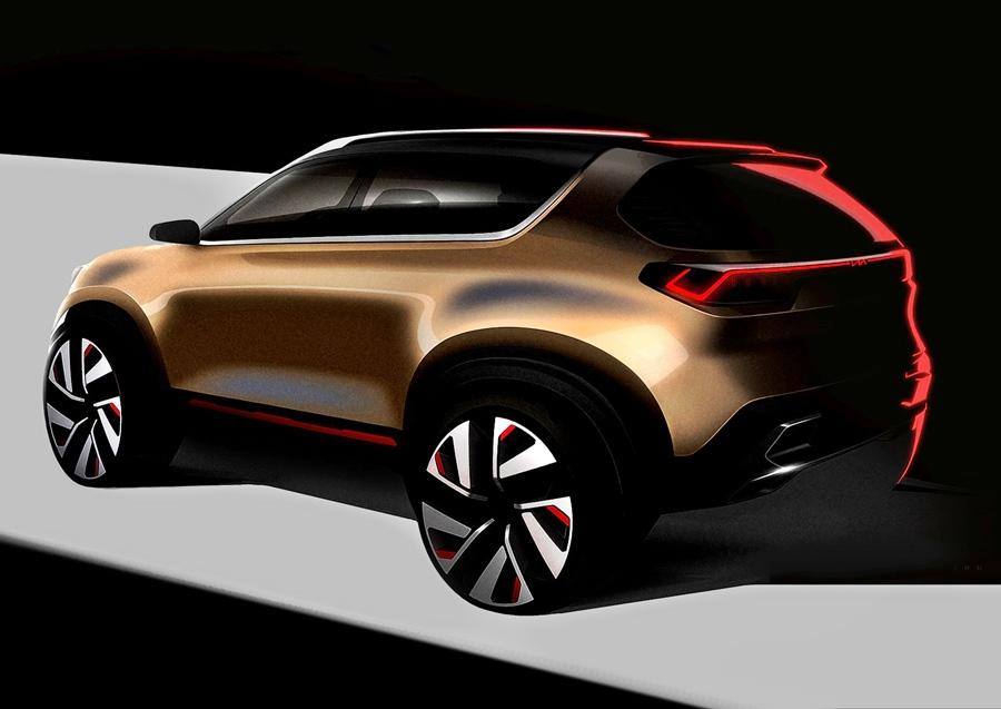 Kia is now aiming at the compact SUV space and it's next would be slotted below the Seltos. The Auto Expo will see a concept but the production version is due to be launched during the festive season.