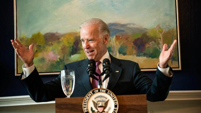 Biden on Gay Marriage: 'Who Do You Love?'