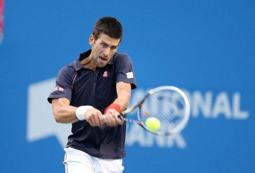 """This match was exceptional today, it's been a long week, a tough week,"" said Novak Djokovic"
