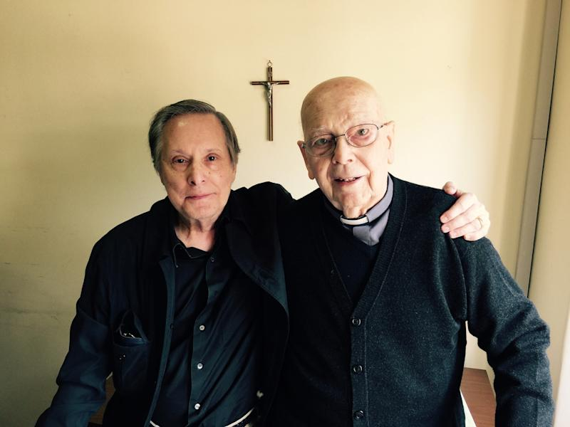 William Friedkin and Father Amorth. (LD Entertainment)