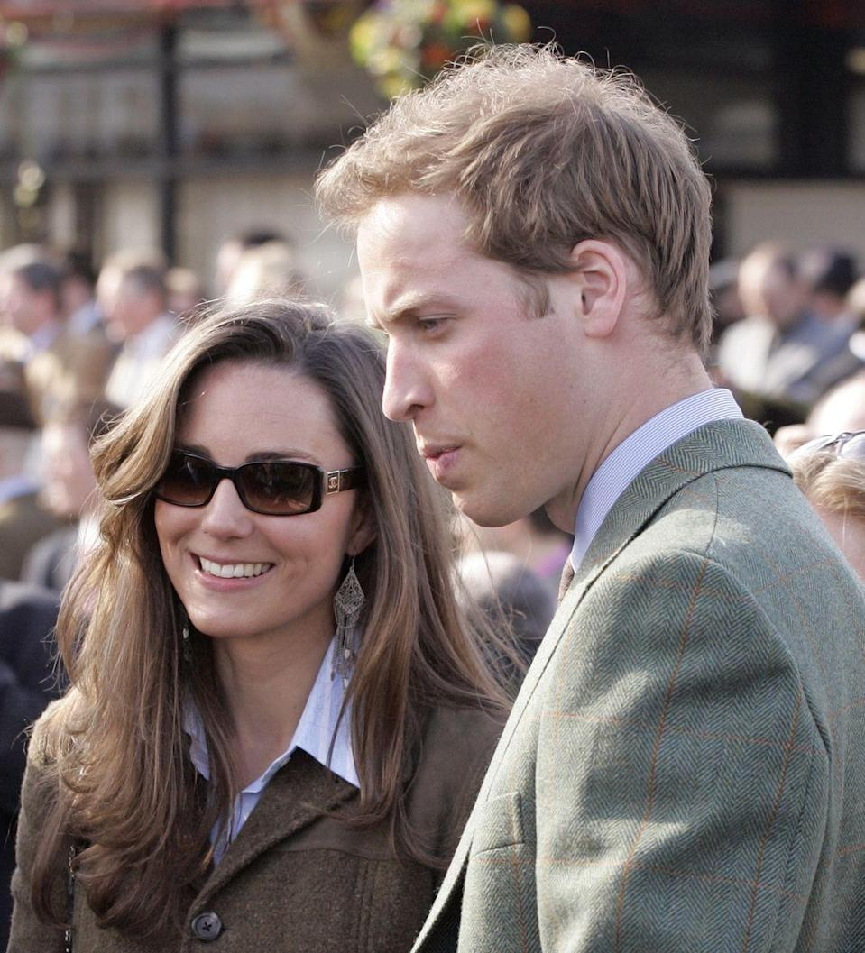 "<p>The couple attended the Cheltenham Horse Racing Festival together (and even dressed alike). But while Prince William, the Queen, and many other royals enjoy saddling up once in a while, Kate was <a href=""https://www.townandcountrymag.com/society/tradition/a9533617/kate-middleton-riding-horses/"" rel=""nofollow noopener"" target=""_blank"" data-ylk=""slk:never known to ride"" class=""link rapid-noclick-resp"">never known to ride</a>. </p>"