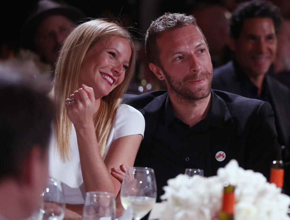 Gwyneth Paltrow and Chris Martin announced their split in 2014. (Colin Young-Wolff /Invision/AP)