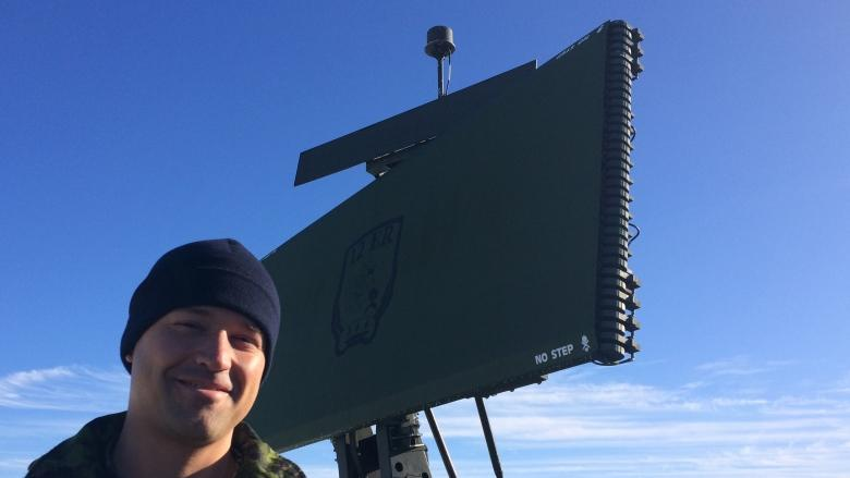 Filling the gap: 9 Wing Gander gets a little radar help from Quebec