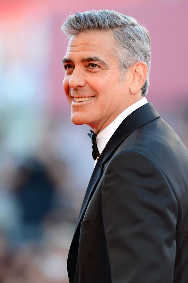 "<p>It all started when the actor sustained a serious injury on the set of 2005's <em>Syriana</em>. While filming a scene in which his character was being tortured, Clooney fell off a chair and split open his head, according to <a href=""https://www.hollywoodreporter.com/news/george-clooney-oscars-brad-pitt-stacy-keibler-descendants-290691"" target=""_blank""><em>The Hollywood Reporter</em></a>. Turns out, the injury was even worse than that: Clooney later learned he'd torn his dura—the outer layer around his spinal cord—and fluid was leaking out. He eventually got surgery on Dec. 25, 2005, but he's battled chronic pain ever since.<br></p>"