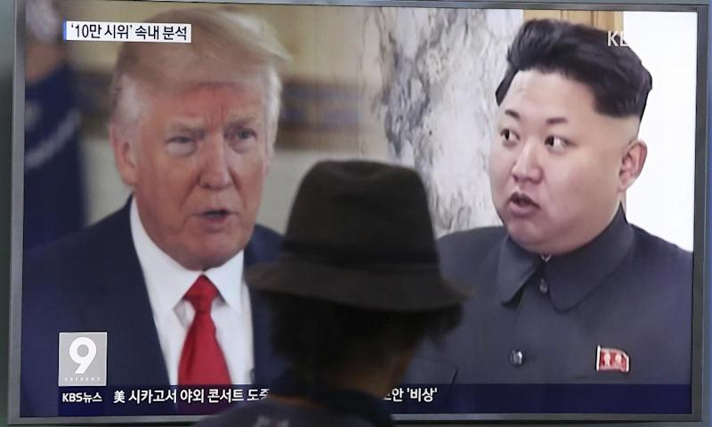 Kim said of Trump: 'Action is the best option in treating the dotard, who, hard of hearing, is uttering only what he wants to say.'