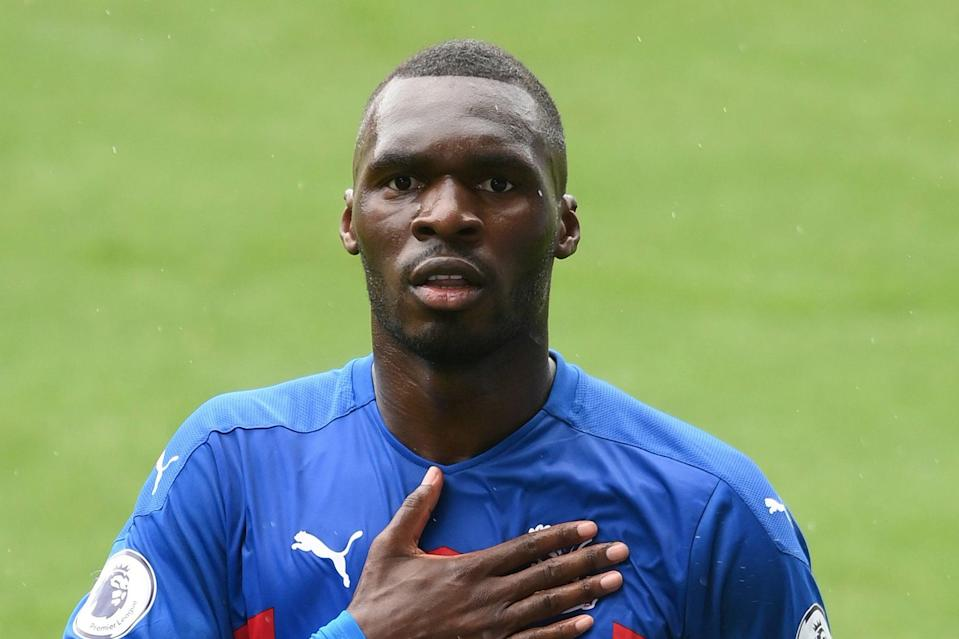 <p>Christian Benteke is staying at Crystal Palace</p> (Getty Images)