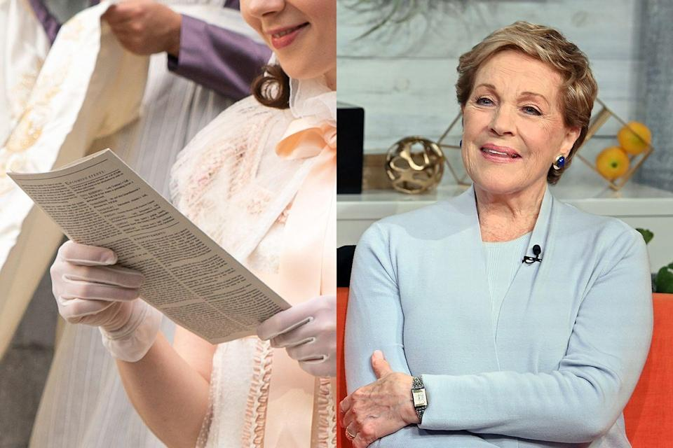 <p>The inimitable Julie Andrews voices Lady Whistledown, the notorious, anonymous author of a gossip sheet that drives much of <em>Bridgerton</em>'s drama.</p>