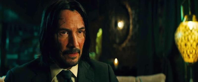 JOHN WICK: CHAPTER 3 - PARABELLUM, Keanu Reeves, 2019. Summit Entertainment / courtesy Everett Collection