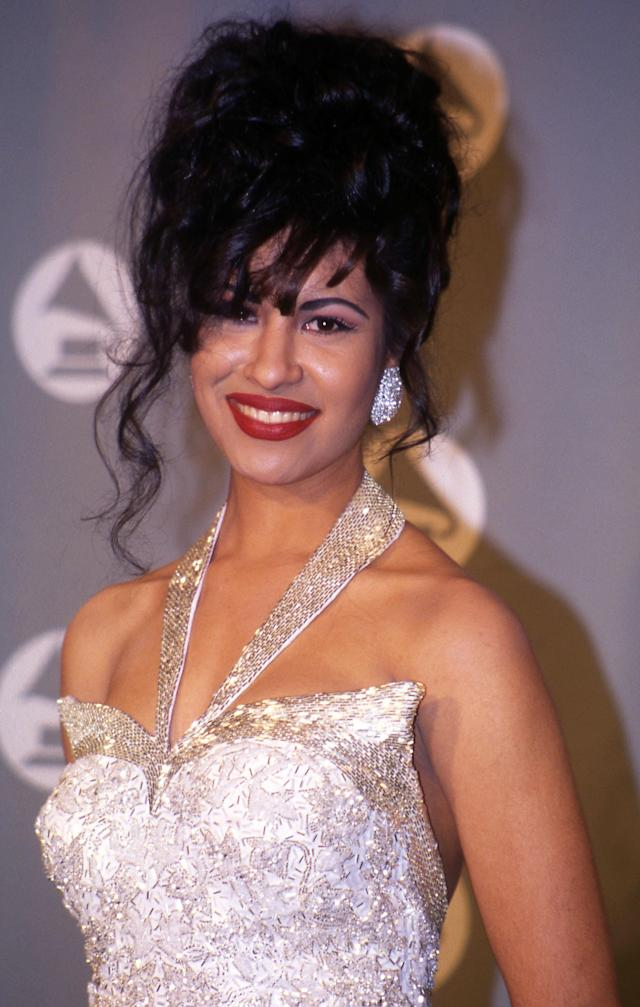 Selena at the 1994 Grammy Awards. (Photo: Vinnie Zuffante/Getty Images)