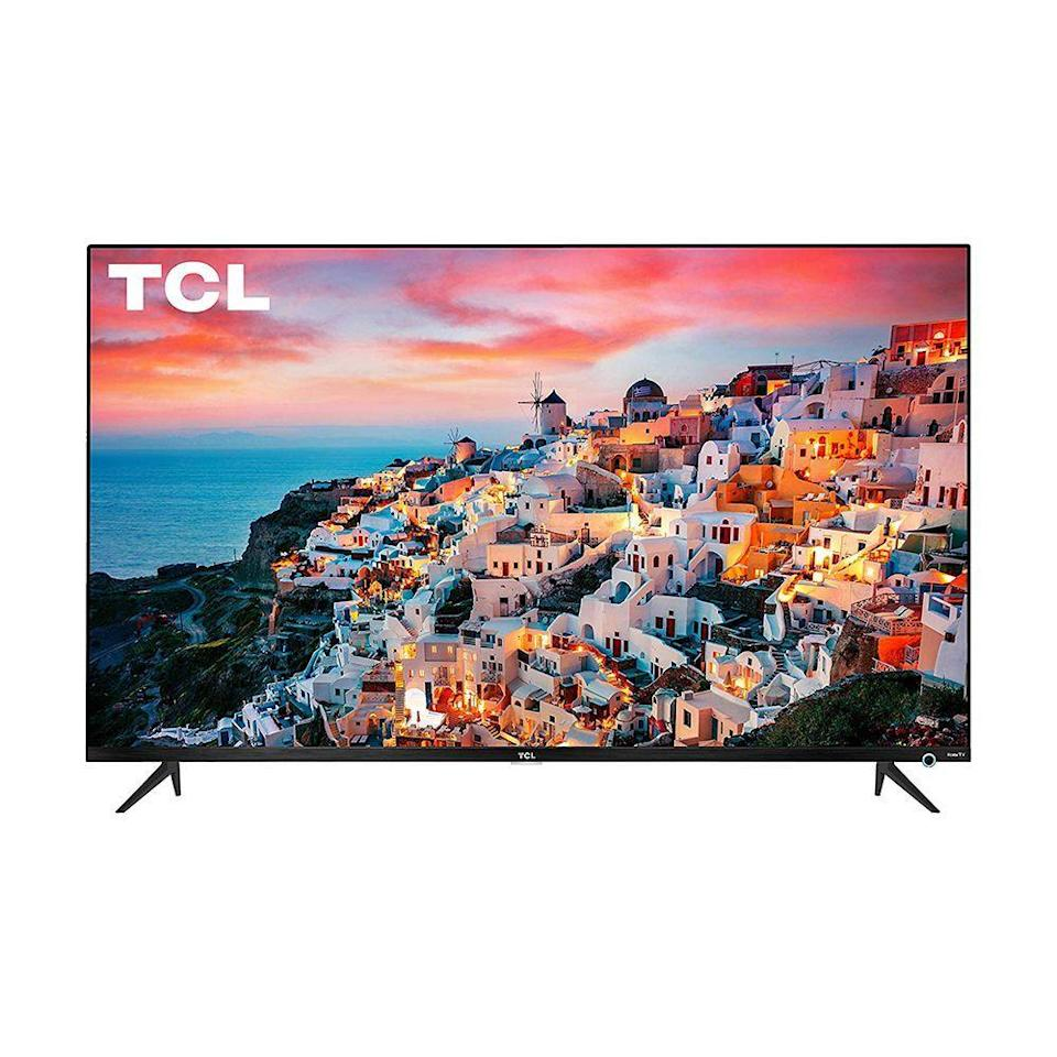 "<p><strong>TCL</strong></p><p>walmart.com</p><p><strong>$299.99</strong></p><p><a href=""https://go.redirectingat.com?id=74968X1596630&url=https%3A%2F%2Fwww.walmart.com%2Fip%2F841795133&sref=https%3A%2F%2Fwww.bestproducts.com%2Ftech%2Felectronics%2Fg1198%2Fflat-screen-small-tvs%2F"" rel=""nofollow noopener"" target=""_blank"" data-ylk=""slk:Shop Now"" class=""link rapid-noclick-resp"">Shop Now</a></p><p>This 43-inch TV by TCL features three HDMI inputs, while most other small TVs only have one or two. The display offers a crisp 4K ultra high-definition resolution and a 120 Hz refresh rate with minimal motion blur, which means that it's a great choice for gamers.</p><p>It also has a built-in Roku streaming device so you can watch your favorite shows and movies online. You can control it with your voice using your Alexa or Google Assistant smart speaker, too!</p>"