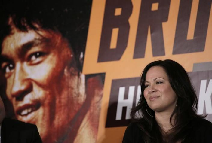 """Shannon Lee, daughter of Bruce Lee and president of the """"Bruce Lee Foundation"""""""