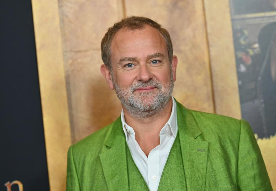 """English actor Hugh Bonneville attends the """"Downton Abbey"""" New York Premiere at Alice Tully Hall, Lincoln Center on September 16, 2019 in New York City. (Photo by Angela Weiss / AFP)        (Photo credit should read ANGELA WEISS/AFP via Getty Images)"""
