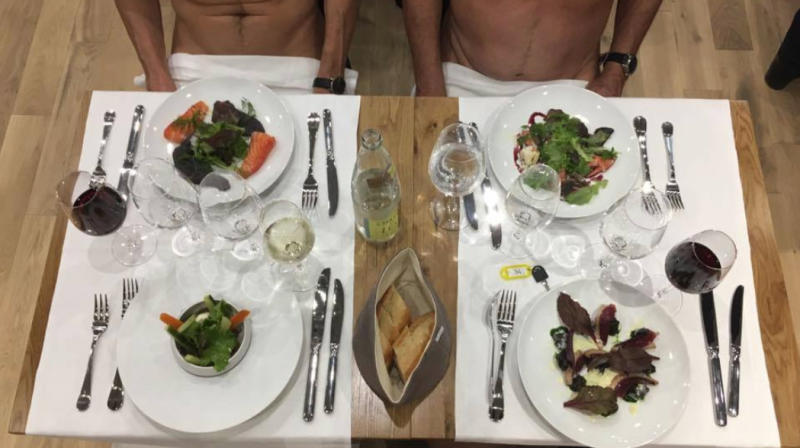 Naked Restaurant Opens In Paris Where Customers Are Invited To Dine In The Nude