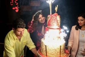 Pay Rs 3.5 Lakh to get Priyanka Chopra's 5 tier red and gold birthday cake