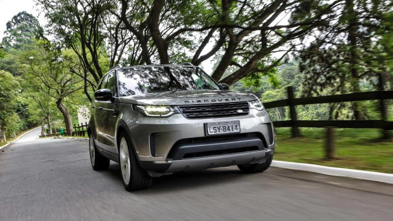 Comparativo Land Rover Discovery x Volvo XC90