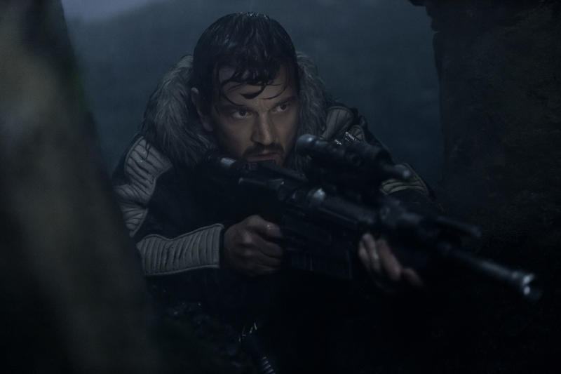 Cassian Andor (Diego Luna) in Rogue One: A Star Wars Story | Giles Kyte—LucasFilm