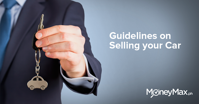 Guidelines on Selling your Car