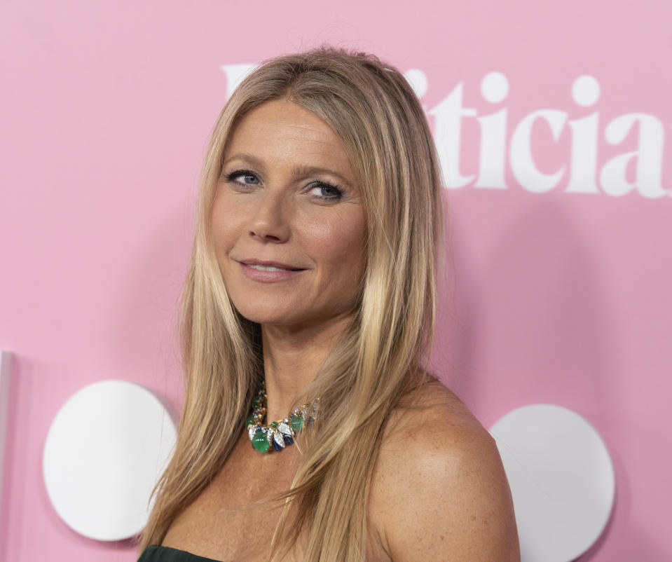 Gwyneth Paltrow attends Netflix The Politician premiere at DGA Theater.