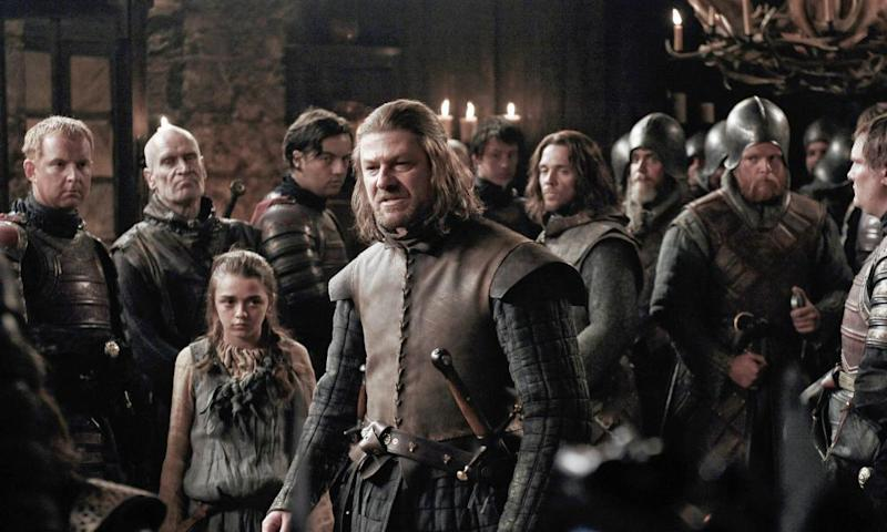 Remember the bad old days? Sean Bean as Ned Stark.