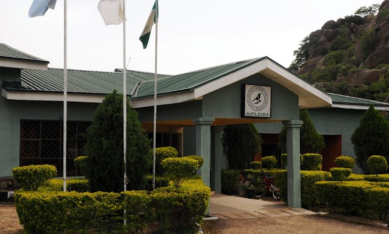 The central office of the Amurum Forest Reserve in Jos, Nigeria, June 5, 2014 (AFP Photo/)