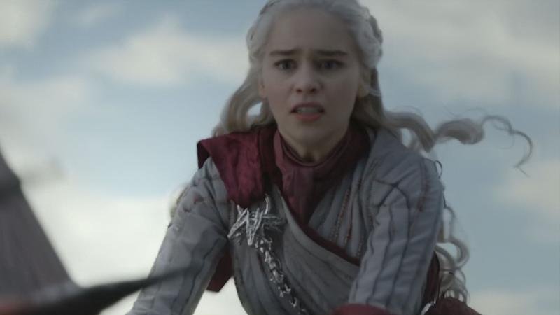 Game of Thrones drew criticism after Daenerys Targaryen's plotline took a turn in the final episodes (HBO)