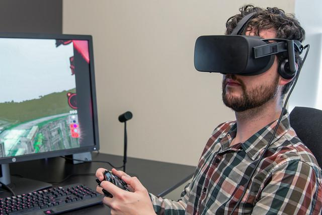 microsoft xbox one vr streaming oculus rift on matt wideview