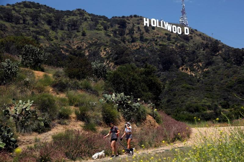 Frequent testing, less contact recommended to get Hollywood cameras rolling again