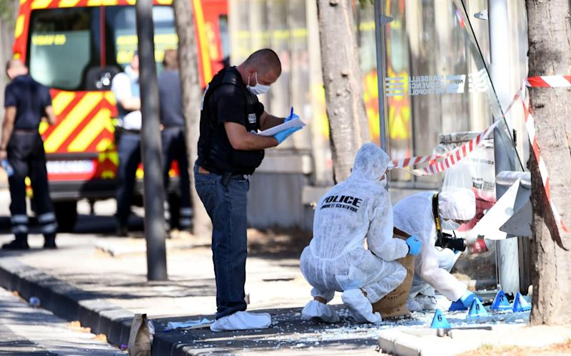 One dead, one injured after car rams two bus stops in Marseille, southern France - AFP