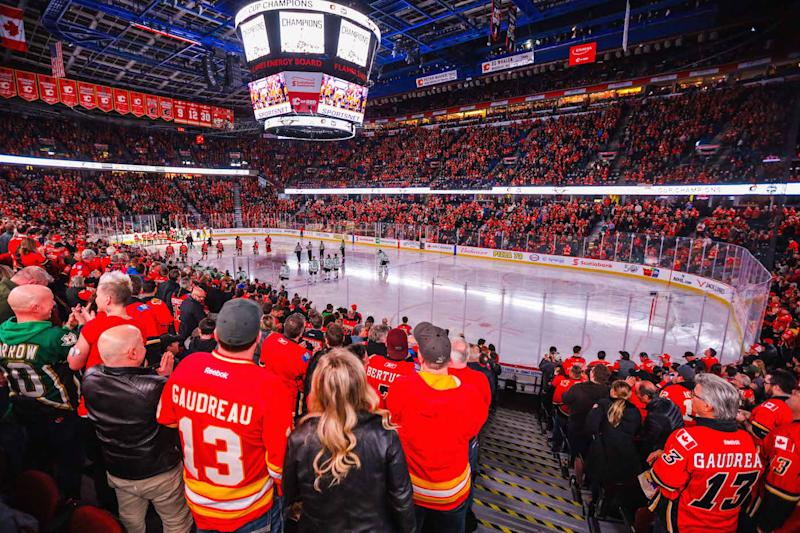 The City of Calgary and the ownership group representing the Calgary Flames have come to an agreement on a new arena. (Sergei Belski-USA TODAY Sports)