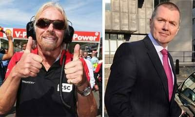Branson Bets Walsh £1m On Virgin's Survival