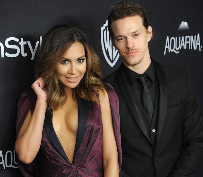 Ryan Dorsey, pictured with late ex-wife Naya Rivera, is making his first public statement regarding her July 2020 death (Photo: Gregg DeGuire/WireImage)